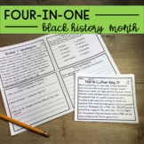 Black History Month Reading Comprehension and for Distance Learning