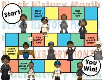 Black History Month Activity: Black History Month Reading Game