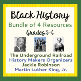 Black History BUNDLE Underground Railroad MLK Jackie Robinson and More