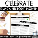 Black History Month Reading Passages | Biographies