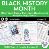 Black History Month - PDF and Digital