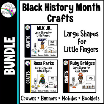 Black History Month Bundle * Banner, Crowns and Mobile