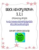 Black History Month 3, 2, 1