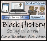 Black History Month Close Reading Bundle Digital & Print  