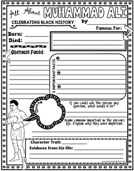 black history month biography research project by elementary lesson plans. Black Bedroom Furniture Sets. Home Design Ideas