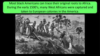 Black History Month - 87 Slide Presentation