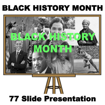 black history month 87 slide presentation by inspire and educate