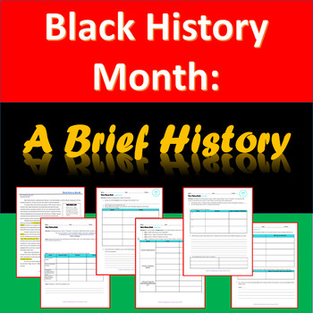 Black History Month - A Brief History
