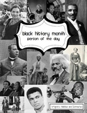 Black History Month: A Person a Day for the Primary Grades