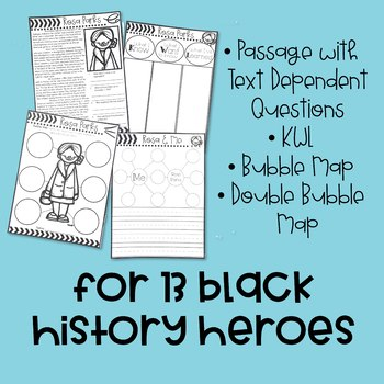 Black History Month: A Social Studies & Literacy Unit