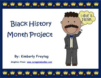 Black History Month: A Three Part Project