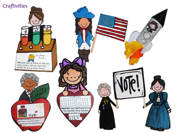 Black History Month AND Women's History Month - Non-fiction for Early Grades