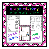 Black History Month Activities - Authors