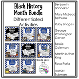 Black History Month Activities Bundle
