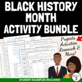 Black History Month Activities Bundle (One-Pager, Poetry,