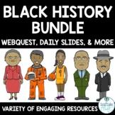 Black History Month Activities Bundle Bulletin Board, Webq
