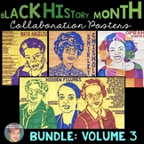 Black History Month Activities: Collaboration Poster BUNDLE Set 3