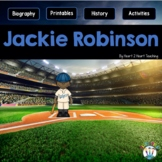 Black History Month Activities: The Life Story of Jackie Robinson Activity Pack