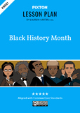 Black History Month Activities: Timeline, Character Maps,