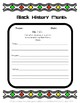 3 R's Graphic Organizer -Black History Month Themed