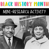 Black History Month Activity - Civil Rights Activists