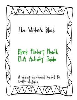 Black History Month Activity Guide