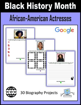 Black History Month - African-American Actresses