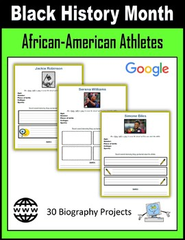 Black History Month - African-American Athletes