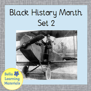 Black History Month - African American Heroes Set 2