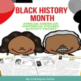 Black History Month:  Historical Figures Close Reading Pas