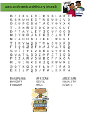 Black History Month (African American History Month) Word Search
