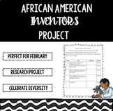 Black History Month - African American Inventors Project