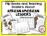 Black History Month - African American Leaders Posters/Flip books K/1
