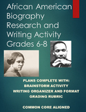 Black History Month- African American Research Report- Complete Print and Go