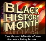 Black History Month Argumentation Project