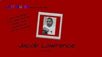 Black History Month, Art History, Jacob Lawrence, Critical Thinking, Project