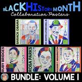 Black History Month Activities: Collaborative Posters BUNDLE: Set 1
