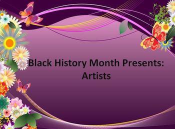 Black History Month: Artists