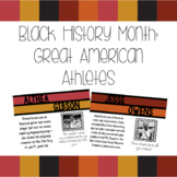 Black History Month: Athletes Bulletin Board