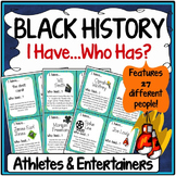 Black History Month Activity {Athletes and Entertainers}