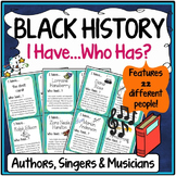 Black History Month Activity {Authors, Singers and Musicians}