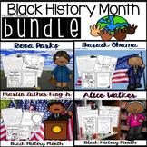 Black History Month BUNDLE: MLK, Rosa Parks, Barack Obama, Alice Walker