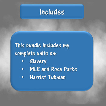 Black History Month BUNDLE for Special Education