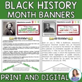 Black History Month Banners: Mini-Research Project
