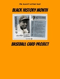 Black History Month Baseball Card Project