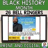 Black History Month Bell Ringers