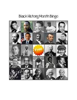 Black History Month Bingo