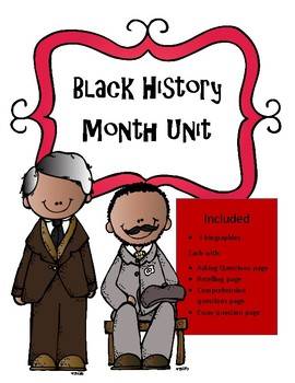 Black History Month: Biographies