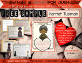 Black History Month Biographies: FREE SAMPLER Harriet Tubman