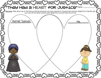Black History Month Biographies: FREE SAMPLER Harriet Tubman